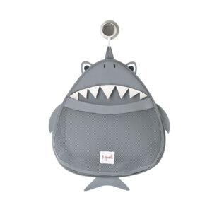 3 Sprouts - Opbevaringspost til Bad - Gray Shark