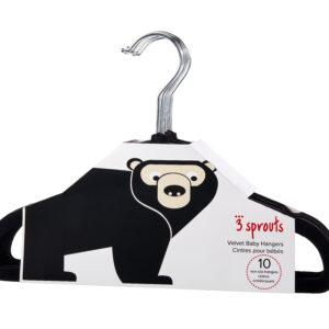 3 Sprouts - Bøjlesæt á 10 stk - Black Bear
