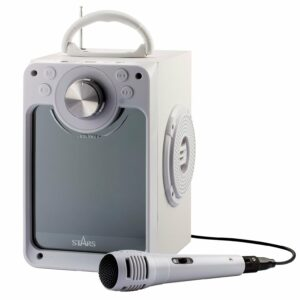 Stars - Karaokemaskine - Hvid