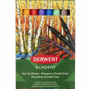 Derwent - Academy Twin Tip Tusser, 8 stk