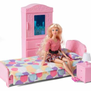 Judith - Bedroom with furnitures and doll (61149)
