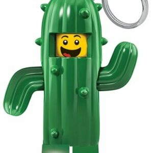 LEGO - Nøglering m/LED - Kaktus Dreng