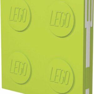 LEGO - Deluxe Notesbog med Kuglepen - Lime