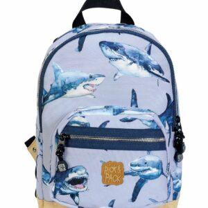 Pick & Pack - Lille Rygsæk 7 L - Shark Light Blue