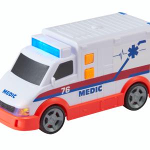 Teamsterz - Ambulance med lys- og lydmodul (1416564)