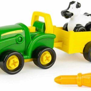 John Deere - Build a Buddy Bonnie - Traktor med ladvogn(15-47209)