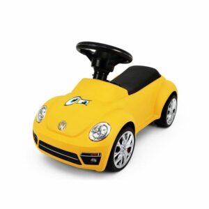 Babytrold - Gåbil - Yellow VW/Folkevogn