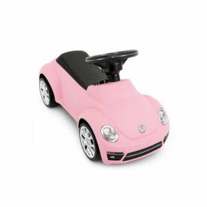 Babytrold - Gåbil - Pink VW/Folkevogn