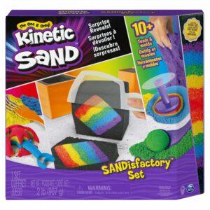 Kinetic Sand - SANDisfactory Sæt