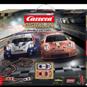 Carrera -  Digital 124 Set - Double Victory (20023628)