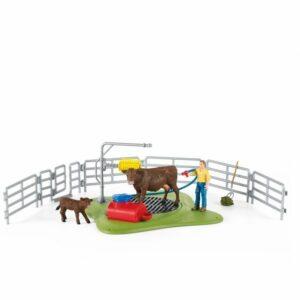 Schleich - Happy Cow Wash (42529)