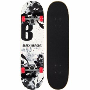 Black Dragon Skateboard - Street Nativism, 78 cm