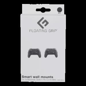 FLOATING GRIP® beslag til Nintendo Switch Pro Controllers, Sort
