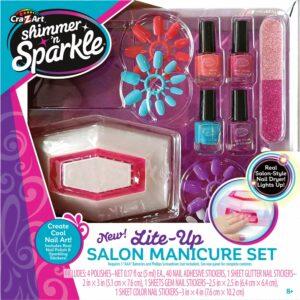 Shimmer 'n Sparkle  - Lite Up Salon - Manicure Sæt