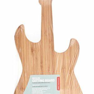Bambus skærebræt - Guitar