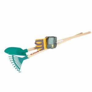 Klein - Bosch - Havesæt til børn med rive, spade og havehandsker