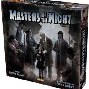 Masters of the Night - Brætspil (Engelsk)
