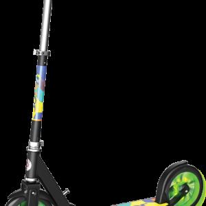 Razor - A5 Lux Light Up Løbehjul - Grøn