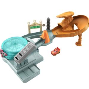 Disney Pixar - Cars Mini Racers Radiator Springs Spin Out. legesæt