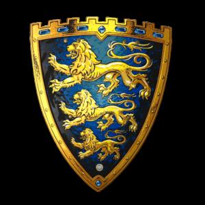 Liontouch - Triple Lion shield (29101)