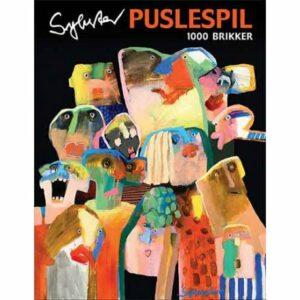 Art Puslespil- Leif Sylvester (1000 stk.)