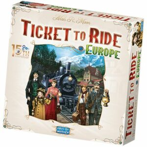 Ticket To Ride Europe 15th Anni. Ed. Nordic