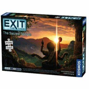 EXIT + Puslespil: Det Forsvundne Tempel (Engelsk)