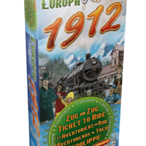 Ticket To Ride - Europa 1912 Udvidelses Pakke (DOW720111)