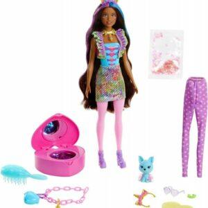 Barbie  - Color Reveal  Peel Unicorn Fashion Reveal Doll (GXV95)