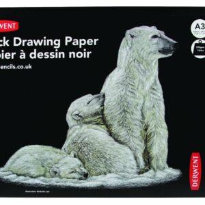 Derwent - Sort Sketch Pad, A3, Landscape (604017)