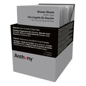 Anthony - Shower Sheets 12 Pcs