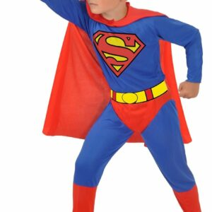 Ciao - Børnekostume - Superman (8-10 år)