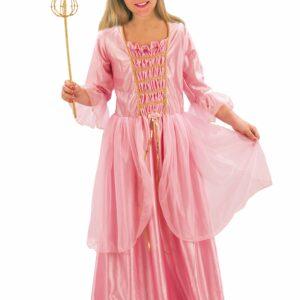 Ciao - Børnekostume - Pink Prinsesse m/Krone