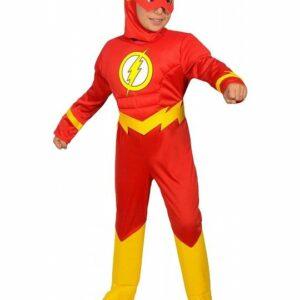 Ciao - Børnekostume - The Flash (5-7 år)