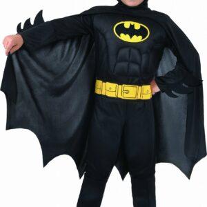 Ciao - Kostume m/Muskler - Batman (5-7 år)