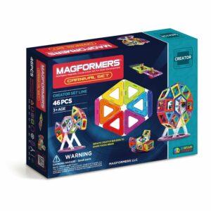 Magformers - Rainbow Carnival sæt, 46 dele