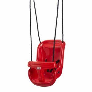 KREA - Babygynge med høj ryg - Rød