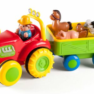 B Beez - Traktor med bondegårdsdyr og lyd og lys