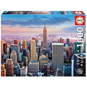 Educa - Puslespil 1000 Brikker - Manhattan