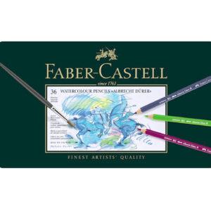 Faber-Castell - Albrecht Dürer Akvarel farveblyanter - Metalæske med 36 stk