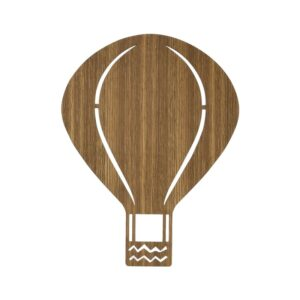 Ferm Living - Air Balloon Lampe - Røget Eg