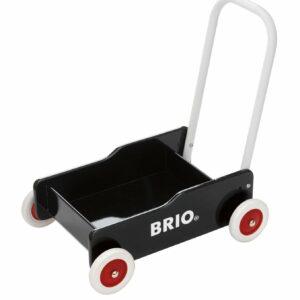 BRIO Gåvogn, Sort (31351)