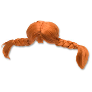 Pippi - Udklædning - Pippi Paryk - One size (44360100)
