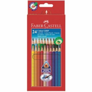 Faber-Castell - Colour Grip 2001 Eco farveblyanter, 24 stk (112424)