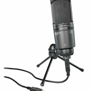 Audio Technica AT2020+ USB Cardioid Condenser USB Microphone