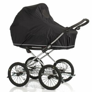 Baby Dan - Regnslag med klimakontrol, reflekskant, lynlås og insektnet